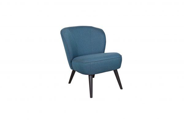 vintage fauteuil blauw