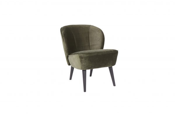 vintage fauteuil groen