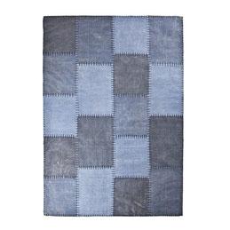 blauw patronen carpet