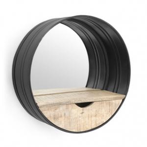 huis accesoires spiegel zwart