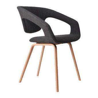 design stoel donkergrijs