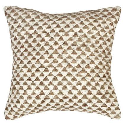 driehoek patroon kussen